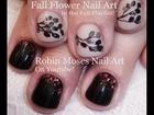 2 Fall Nail Art Tutorials! - DIY Autumn leaves | Short Nail Art for beginners