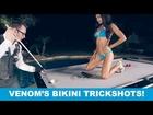 Ozone Billiards SEXY BIKINI TRICK SHOTS - Venom III: Ep 1