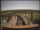 El Toro Wooden Roller Coaster Front Seat POV - Six Flags Great Adventure
