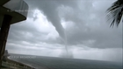 Waterspout in Rincon, Puerto Rico 9-5-14