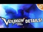 EXCLUSIVE Voltron Legendary Defender Details Revealed! (Nerdist News w/ Jessica Chobot)