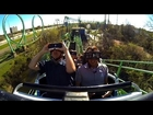 Virtual Reality VR Roller Coaster Six Flags Over Texas Shock Wave New Revolution