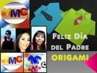Tarjetas Día del Padre: Camisa Origami paso a paso (( YMC ))