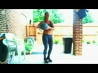 Kimfitnesschic LIVE! 100th DAY SHORTER WORKOUT-6 min HIIT-Medicine Ball Fun