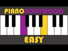 Saiyaara [Ek Tha Tiger] - Easy PIANO TUTORIAL - Verse [Left Hand]