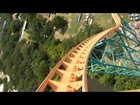 Titan! Roller Coaster (HD POV) Front Seat On-Ride Six Flags Over Texas