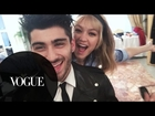 That's Amore! Behind the Scenes With Zayn and Gigi in Italy