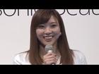 山岸舞彩「私も気になる」男性の身だしなみを語る!「Panasonic Beauty」男性美容新製品発表会(1)