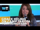 Grace Helbig Talks Camp Takota & New TV Show | #SamsungSXSW
