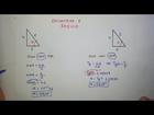 Encontrando ângulos em triângulo reto - Naor Sales