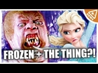 This GROSS Frozen Mashup is Worth Melting For! (Nerdist News w/ Jessica Chobot WTFridays)
