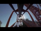 Six Flags Magic Mountain Tatsu POV HD Roller Coaster On Ride Front Seat Flying GoPro 2013