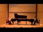 第18回国際ピアノデュオコンクール演奏部門(審査員特別賞、カワイ賞片山組課題曲)The 18th International Piano Duo Competition 2013