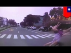 Ambulance dash cam: Woman T-boned after failing to yield to emergency vehicle
