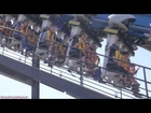 Batman The Ride Backwards (Off-Ride) Six Flags Magic Mountain