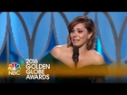 Rachel Bloom Wins Best Actress in a TV Series, Comedy or Musical - Golden Globes 2016