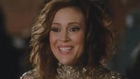 How Alyssa Milano Hides Baby Bump on 'Mistresses'