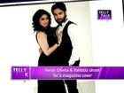 Madhubala Ek Ishq Ek Junoon : RK aka Vivian Dsena and Vahbbiz shoot for a magazine cover