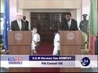 Herman Van Rompuy à la Fin de sa visite au Bénin: