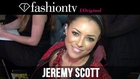 Coco Rocha at Jeremy Scott Fall/Winter 2014-15 Front Row | New York Fashion Week NYFW | FashionTV