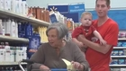 Old Lady Questions Her Mental State After Store Prank