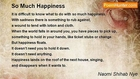 Naomi Shihab Nye - So Much Happiness