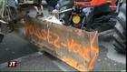 Les gens du voyage à Balma : colère des agriculteurs