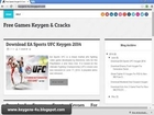 EA Sports UFC Activation Keys Download