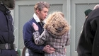 Anna Sophia Robb kisses Austin Butler on set of Carrie Diaries in NYC