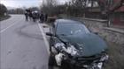 İznik'te Otomobil, Traktöre Çarptı: 1 Yaralı