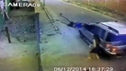 Girl hit by a car driving so fast - So violent Hit and Run in Brazil