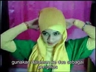 Tutorial Cara Memakai Jilbab hijab Segi Empat Modern 2015 #10