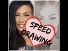 Speed Drawing of: ♥ Anty/Antonia Johnson ♥